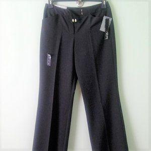 New Nicole Miller size 6 black slacks